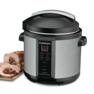 Cuisinart Electric Pressure Cooker Manual CPC 600 and Recipe Booklet