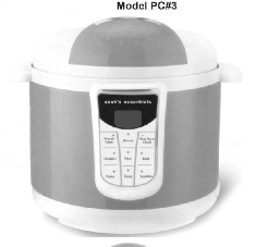 Cook's Essentials Digital Pressure Cooker Manual
