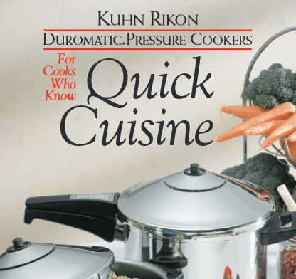 Free Pressure Cooker Manual Recipe Booklet Library