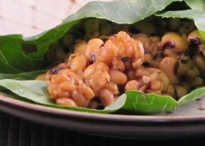 JL's Pressure Cooker Farro & Beans in Collard Green Wraps – Reader Recipes