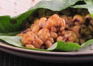 JL's Pressure Cooker Farro & Beans in Collard Green Wraps – Reader Recipes