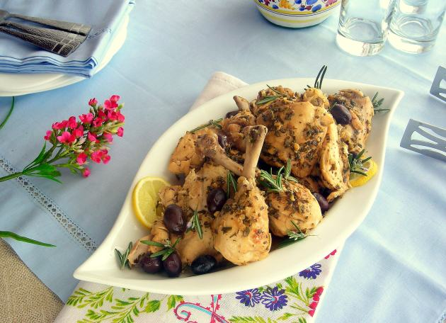 Pressure Cooker Braised Chicken