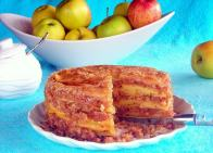 Caramelized Apple Crumb Cake - pressure cooker recipe