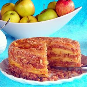 Caramelized Apple Crumb Cake - pressure cooker recipe