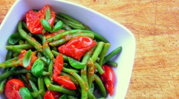 Pressure Cooker Stewed Green Beans