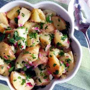 Easy Pressure Cooker Potato Salad Recipe & VIDEO!