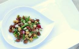 Pressure Cooker Three-Bean Salad