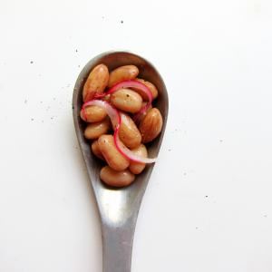 SPILL the beans!  Pressure cook fresh legumes