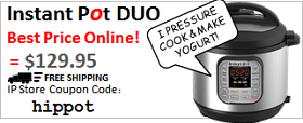 Instant Pot DUO Discount Code: hippot