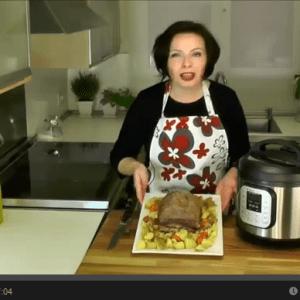 VIDEO: Pressure Cooker Pot Roast with Carrots & Potatoes