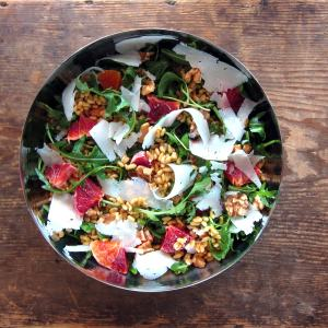 Old is New, again: Kamut, Arugula & Orange Salad