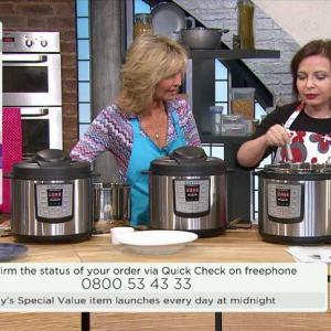 Instant Pot QVC UK Pressure Cooker Demo