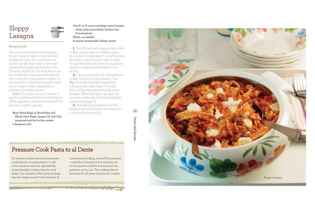 The cookbook hip pressure cooking fast fresh flavorful hip apork alasagna fandeluxe Gallery