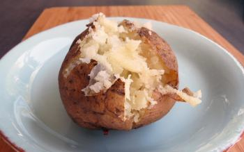 Pressure Cooker Short-cut Baked Potato