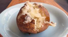 Pressure Cooker Short-cut Baked Potato