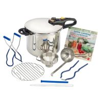 Only dedicated stovetop Pressure Cooker/Canners can be used for both.