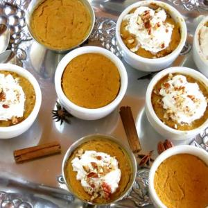 Pumpkin Cutie Pies OR Filling for baked pumpkin pie – from scratch