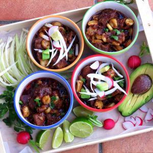 Easy Posole One Pot – pork & hominy stew makeover