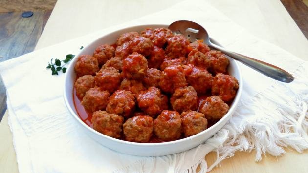 Pressure Cooker Meatballs Recipe
