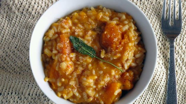 Butternut Squash Risotto pressure cooker recipe