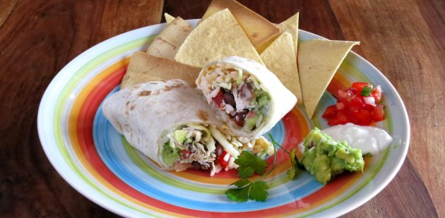 pressure_cooker_chicken_burrito