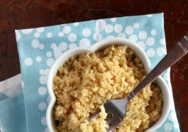 Quinoa Pressure Cooker Recipe