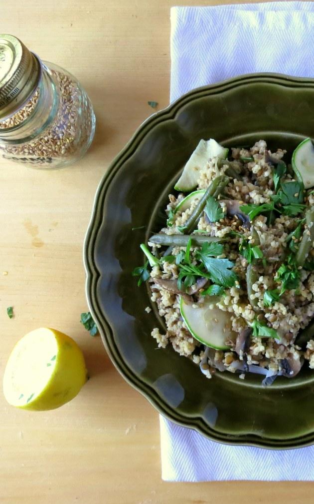 The Veggie Queen's Vegan Pressure Cooker One Pot Meal