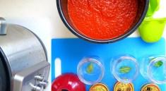 Pressure Cooker Large Batch Tomato Sauce