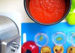Pressure Cooker Large Batch Tomato Sauce