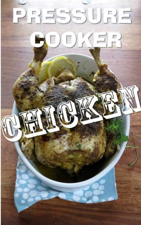 pressure cooker CHICKEN!!!