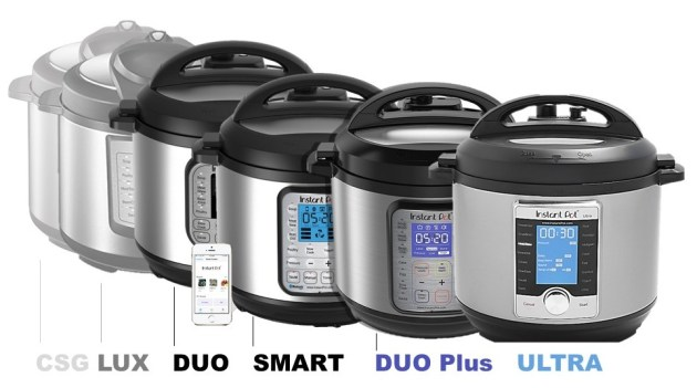 Instant Pot Model Comparison and Capsule Reviews