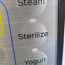Instant Pot DUO Plus new Sterilize Function