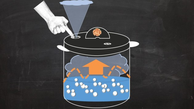 what's going on inside when you release pressure from the pressure cooker