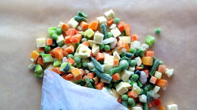 Frozen Vegetable Mix