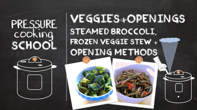 Vivid Veggies and Opening Methods - Pressure Cooking School