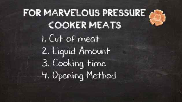 4 Secrts to Mastering Meats in the Pressure Cooker