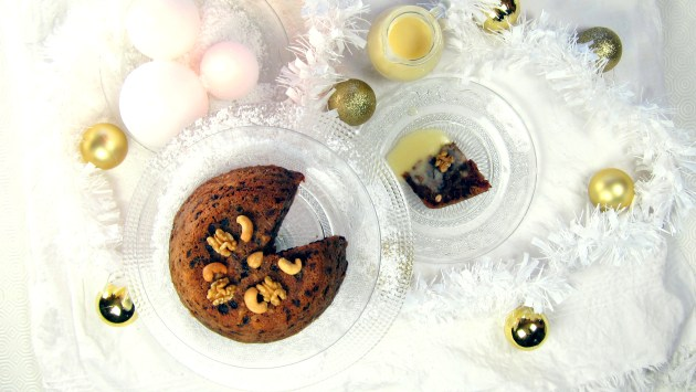 easy pressure cooker christmas pudding