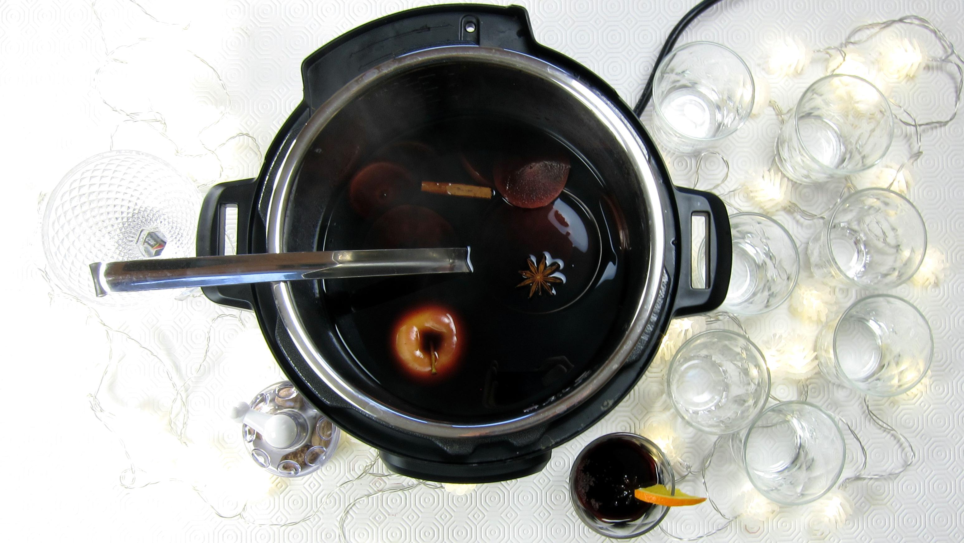 1-minute Mulled Wine - pressure cooker recipe