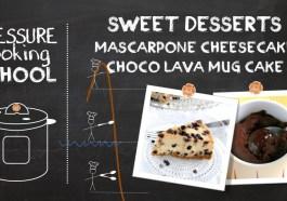 Pressure Cooking School - Sweet Desserts
