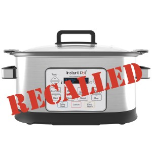 It's Official: Instant Pot GEM Recalled