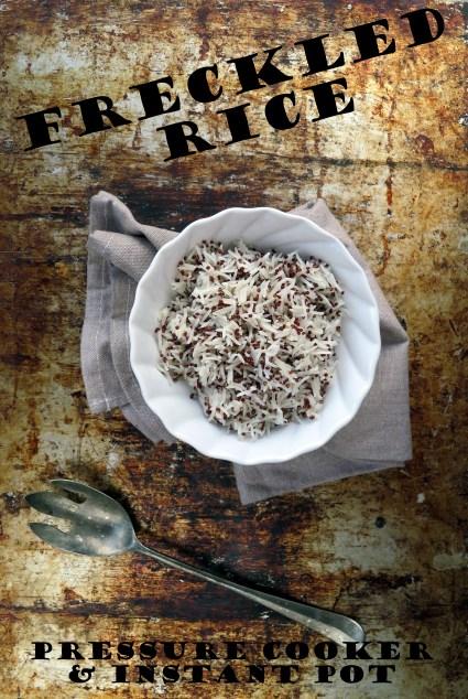 freckled rice pressure cooker / instant pot