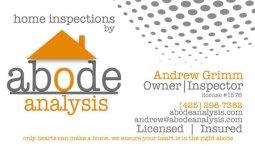 Andrew Grimm - Abode Analysis