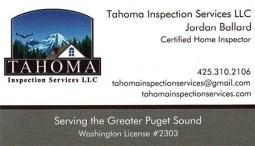 Jordan Ballard - Tahoma Inspection Services