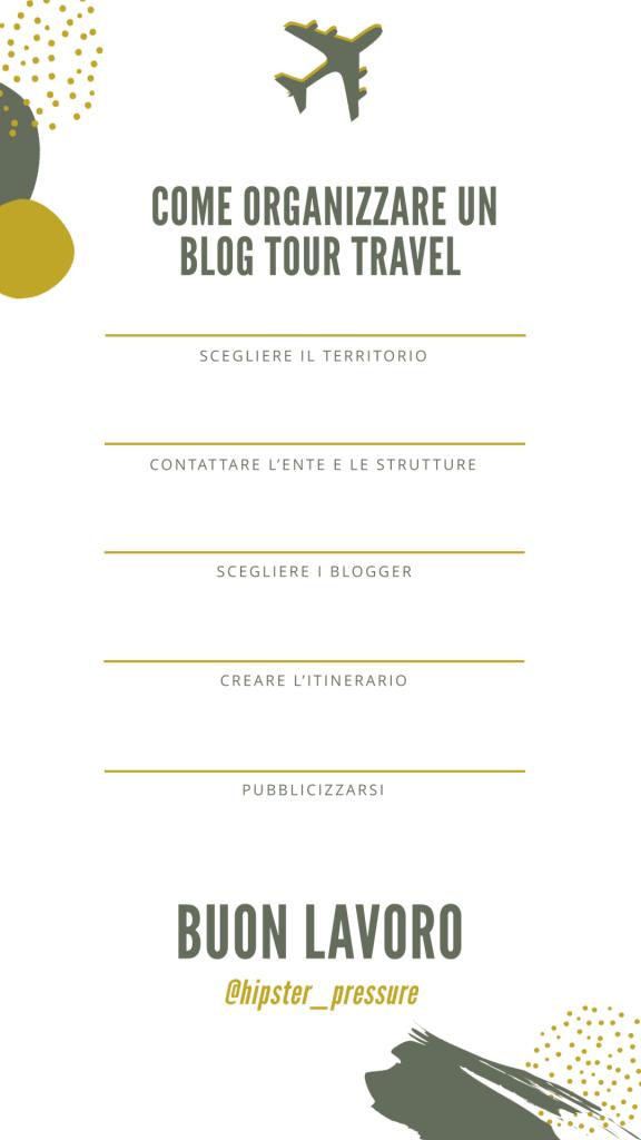 Organizzare un blog tour