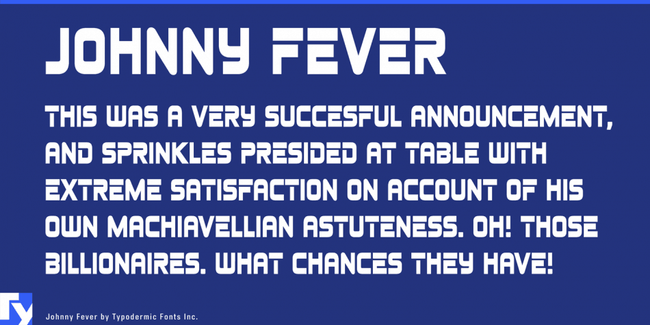 Johnny Fever Free 80's Fonts