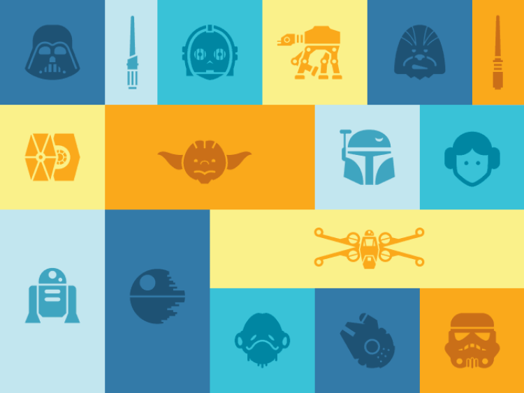 More Free Star Wars Icons