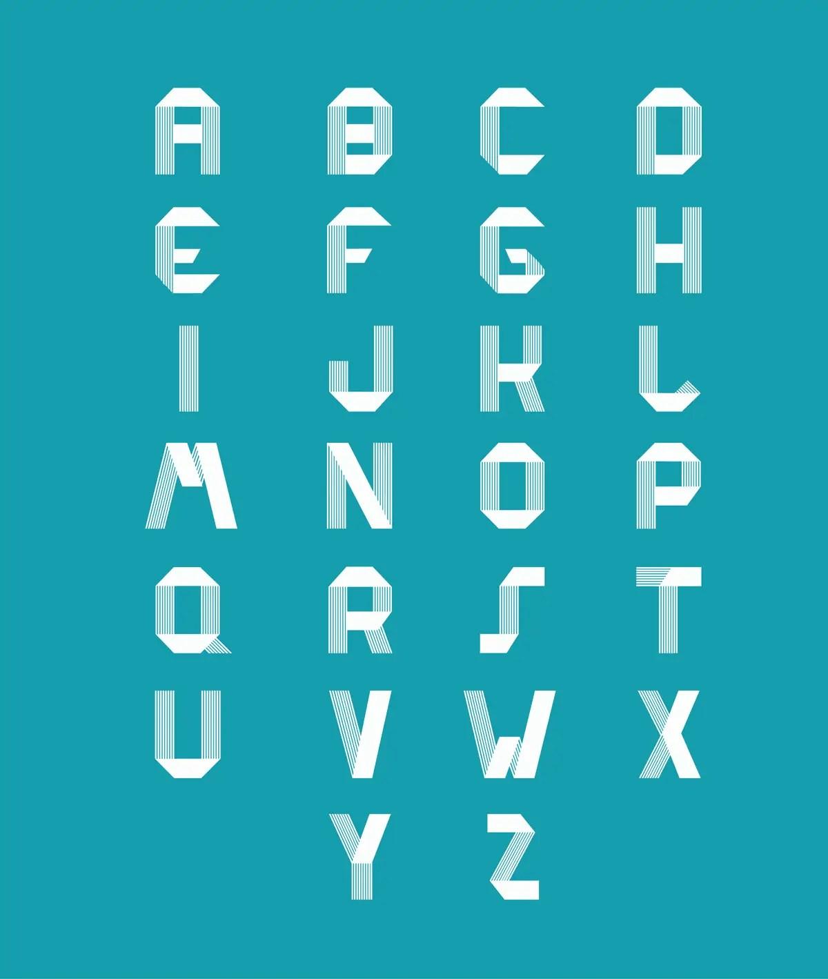 D Block Letter Font  MaggiLocustdesignCo