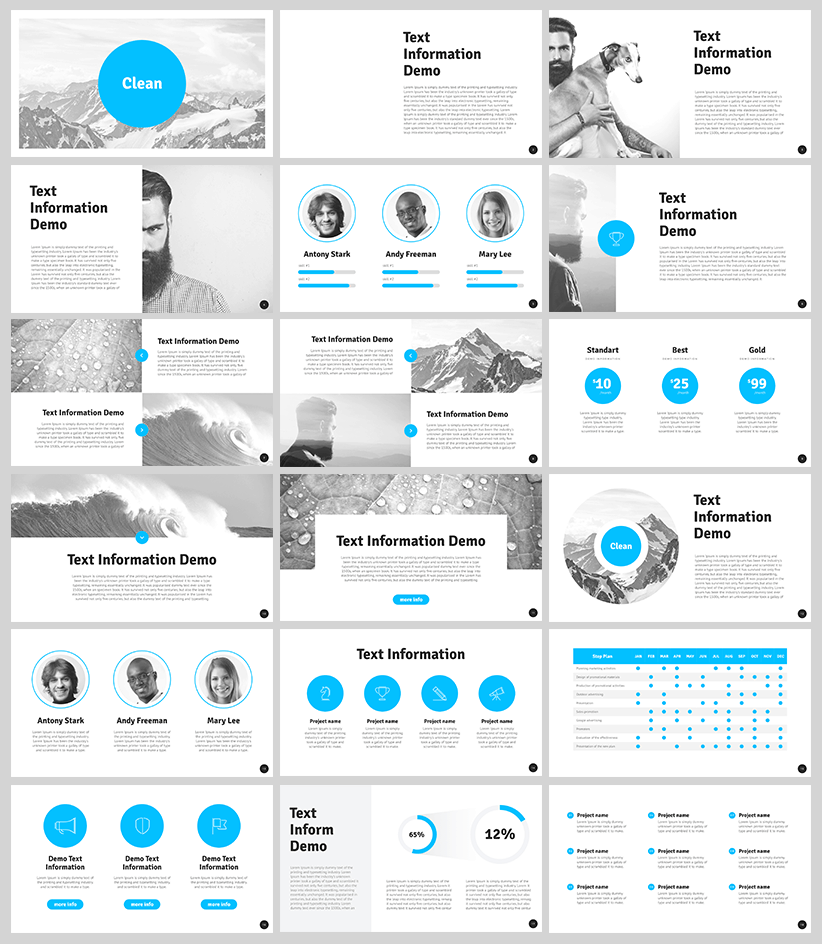 The best 8 free powerpoint templates hipsthetic free clean modern powerpoint template toneelgroepblik Choice Image