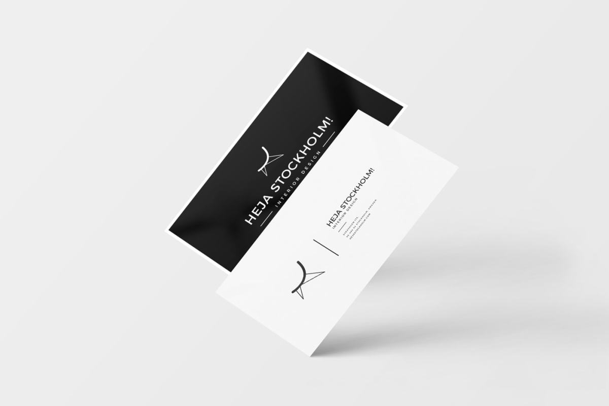 20 Free Unique Business Cards With Free PSD Mockups | Hipsthetic