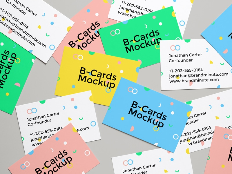 20 Free Unique Business Cards With Free Psd Mockups Hipsthetic